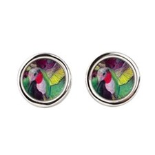 Its Ruby, Humming Bird Design by GG Burn Cufflinks