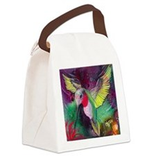 Its Ruby, Humming Bird Design by  Canvas Lunch Bag