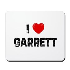 I * Garrett Mousepad