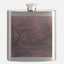 Autumn Pond 2 Flask