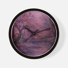 Autumn Pond 2 Wall Clock