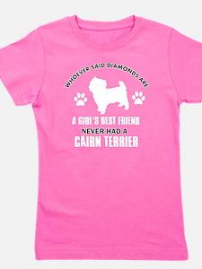 Cairn Terrier Mommy Designs Girl's Tee