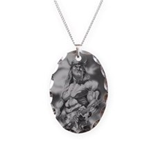 Conan The Barbarian Necklace Oval Charm
