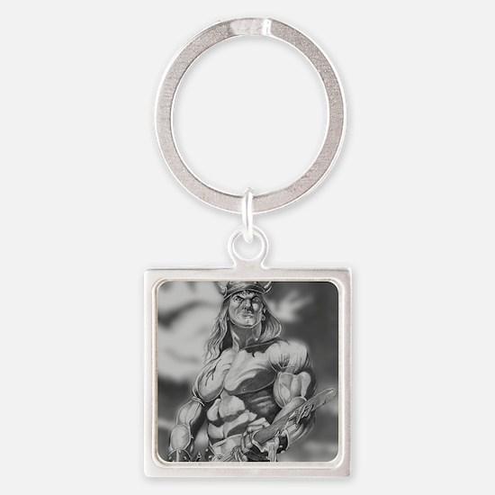 Conan The Barbarian Square Keychain