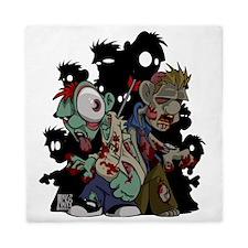 Zombies Attack! Queen Duvet