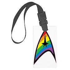 Star Trek LGBTQ Rainbow Luggage Tag