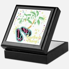 Spring Break Southern Thang Keepsake Box