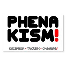 PHENAKISM - CHEATING! Decal