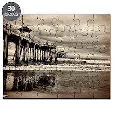 Huntington Beach CA Pier Puzzle