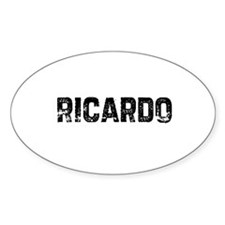 Ricardo Oval Decal