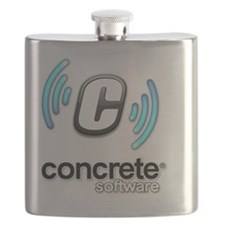 Concrete Software White Flask