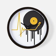 music_pulse_graffiti_stamp Wall Clock
