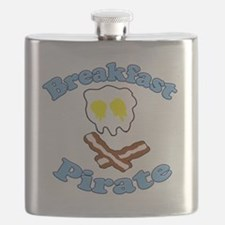 Breakfast Pirate Flask