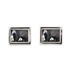 European Badger Cufflinks