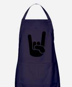 Rock hand Apron (dark)