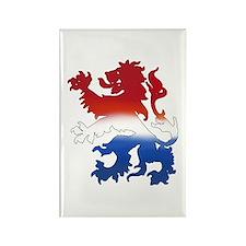 Dutch Lion Rectangle Magnet (10 pack)