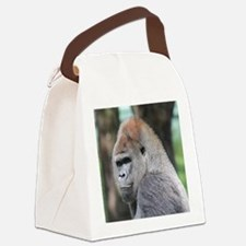 Mrithis face Canvas Lunch Bag