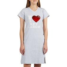 I Heart Key Largo Women's Nightshirt