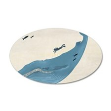 Blue Whale Wall Decal