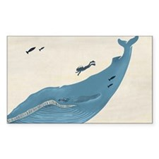 Blue Whale Decal