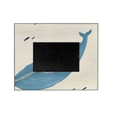 Blue Whale Picture Frame