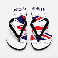 I Heart my LBC (Little British Car) Flip Flops