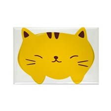 Cute Kitty Rectangle Magnet
