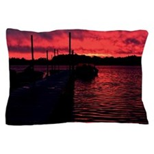 Sunset on a Nothern Lake Pillow Case