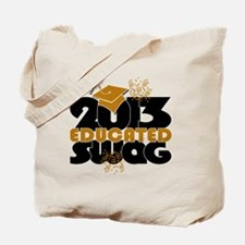 2013 Educated Swag Confetti Tote Bag