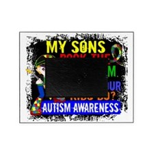 D Sons Rock The Spectrum Autism Picture Frame