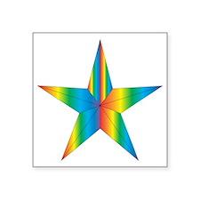 "star_ricardo_gladwel_01 Square Sticker 3"" x 3"""