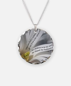 Proverbs 31 Mother Necklace