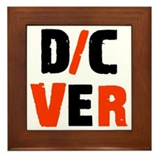 DC-VER w-black Framed Tile