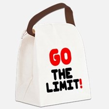 GO THE LIMIT! Canvas Lunch Bag
