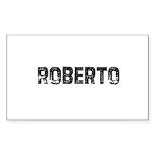 Roberto Rectangle Decal