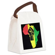 Pan Africa Canvas Lunch Bag
