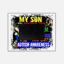 D Son Rocks The Spectrum Autism Picture Frame