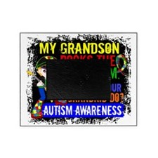 D Grandson Rocks The Spectrum Autism Picture Frame