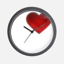 I Heart Guemes Island Wall Clock