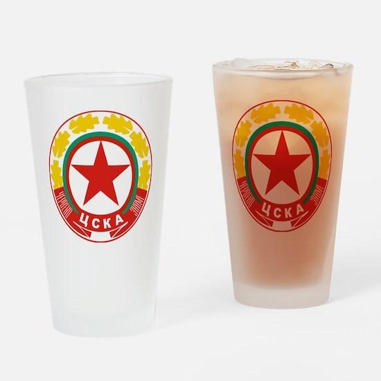 CSKA Sofia Drinking Glass