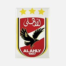 Al Ahly SC Rectangle Magnet