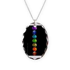 Chakra Moons Necklace