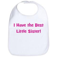 I Have The Best Little Sister Bib