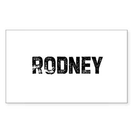 Rodney Rectangle Sticker