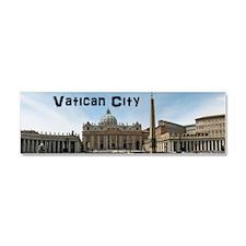 VaticanCity_8.31x3_mug_SaintPete Car Magnet 10 x 3