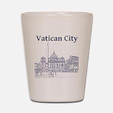VaticanCity_12X12_SaintPetersSquare_1Bl Shot Glass