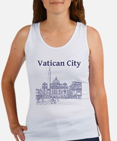 VaticanCity_12X12_SaintPetersSqua Women's Tank Top