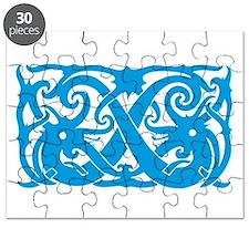 Sarawak Design 3 Blue Puzzle