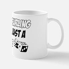 Curling vector designs Mug