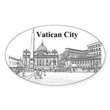 VaticanCity_17.2X11.5_SaintPetersSq Decal